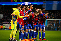Football - 2017 / 2018 UEFA Champions League - Round of Sixteen, Second Leg: Manchester City (4) vs. FC Basel (0)<br /> <br /> Basel Team Group at The Etihad.<br /> <br /> COLORSPORT