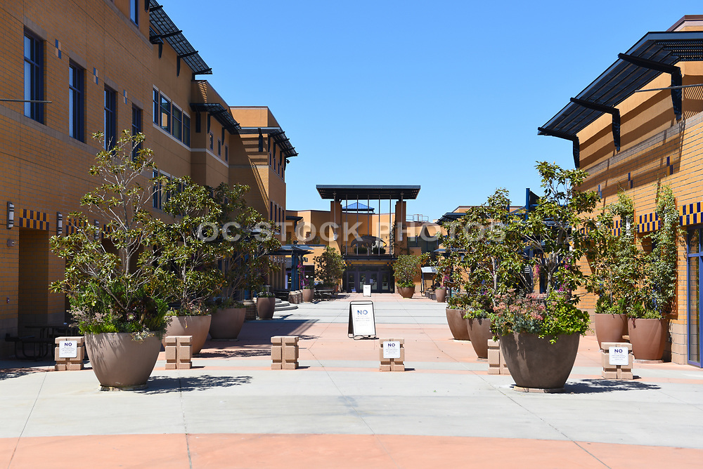 Food Court West on Campus at University of California Irvine, UCI