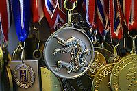 Judomedaljer, medals, Tomoe nage