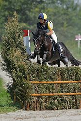 Münker Pia (GER) - Biggi<br /> European Pony Championships Avenches 2008<br /> Photo © Dirk Caremans - Hippo Foto