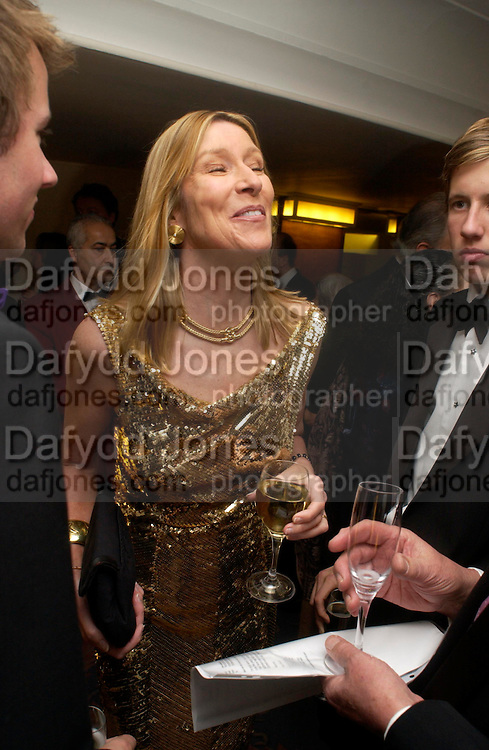 Lady Carina Frost. Annual  Award dinner given by the Media Society in honour of Sir David Frost. Savoy. 9 March 2005. ONE TIME USE ONLY - DO NOT ARCHIVE  © Copyright Photograph by Dafydd Jones 66 Stockwell Park Rd. London SW9 0DA Tel 020 7733 0108 www.dafjones.com