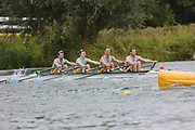 Race: 164  4x- (Band 1)  Final<br /> <br /> Peterborough Summer Regatta 2018 - Sunday<br /> <br /> To purchase this photo, or to see pricing information for Prints and Downloads, click the blue 'Add to Cart' button at the top-right of the page.