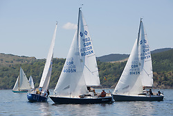 Sailing - SCOTLAND  - 25th May 2018<br /> <br /> Opening days racing the Scottish Series 2018, organised by the  Clyde Cruising Club, with racing on Loch Fyne from 25th-28th May 2018<br /> <br /> National Sonata Class with GBR8005N, Virtuoso, Brian Wiseman/ Guy Neville, Craignish BC<br /> <br /> Credit : Marc Turner<br /> <br /> Event is supported by Helly Hansen, Luddon, Silvers Marine, Tunnocks, Hempel and Argyll & Bute Council along with Bowmore, The Botanist and The Botanist