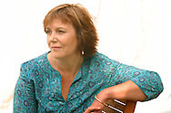 Internationally bestselling British novelist Kate Atkinson, pictured at the Edinburgh International Book Festival where she talked about her work. The Book Festival is the world's biggest literary festival with appearances by over 500 authors from across the world.