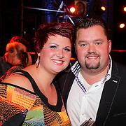 NLD/Den Bosch/20120920- Uitreiking Buma NL Awards 2012, Frans Bauer en partner