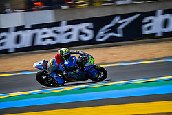 May 18, 2018 - Le Mans, France - 36 JOAN MIR (ESP) EG 0,0 MARC VDS (BEL) KALEX MOTO2 (Credit Image: © Panoramic via ZUMA Press)