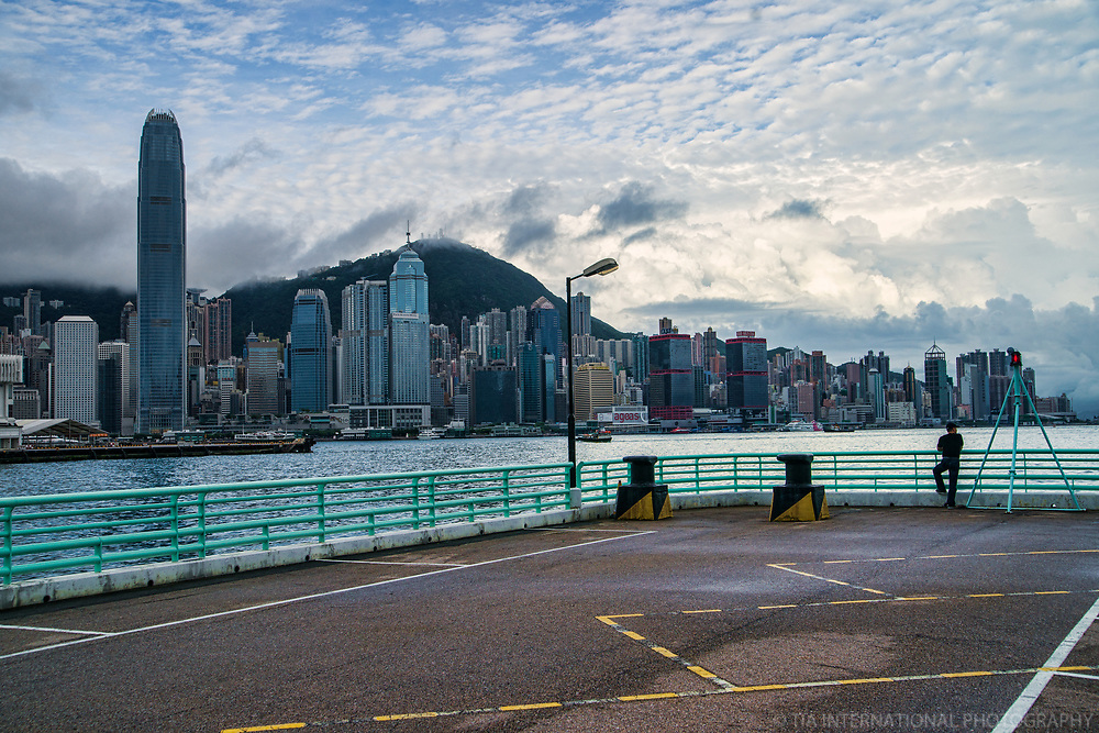 HK Skyline from Harbour City, Kowloon