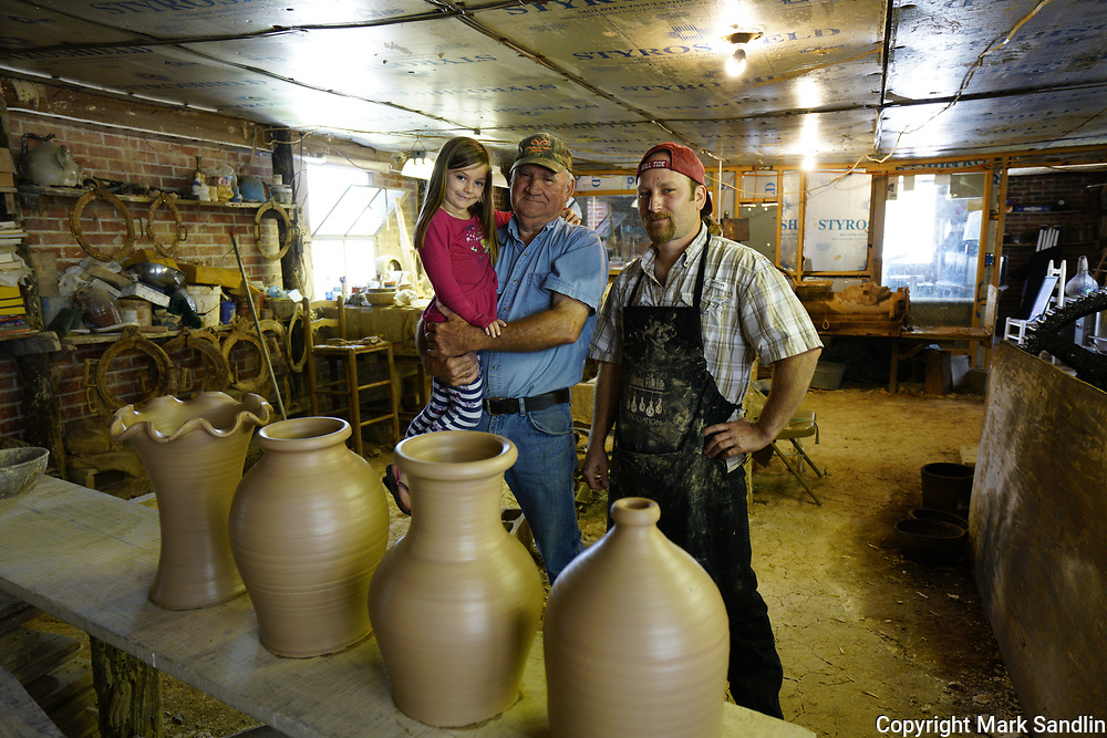 Millers Pottery, Brent, Alabama