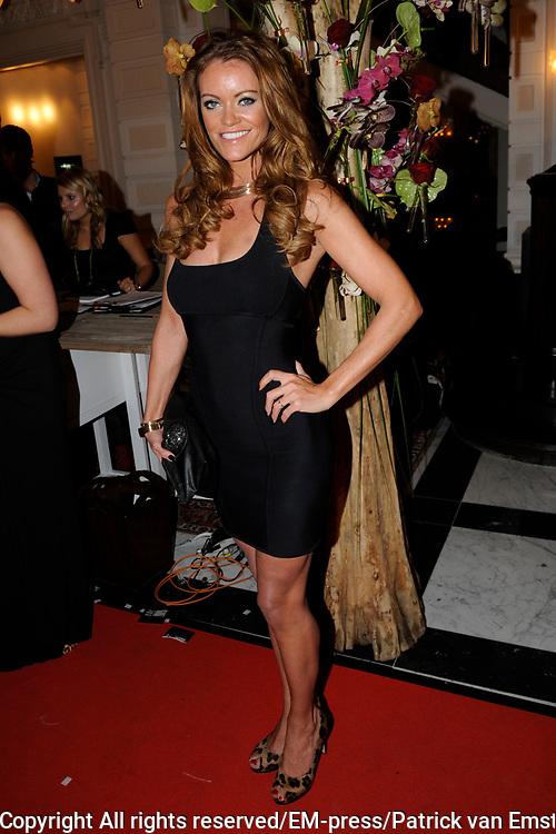 Uitreiking Beau Monde Awards in het Amstel Hotel, Amsterdam.<br /> <br /> Op de foto:  Inge de Bruijn