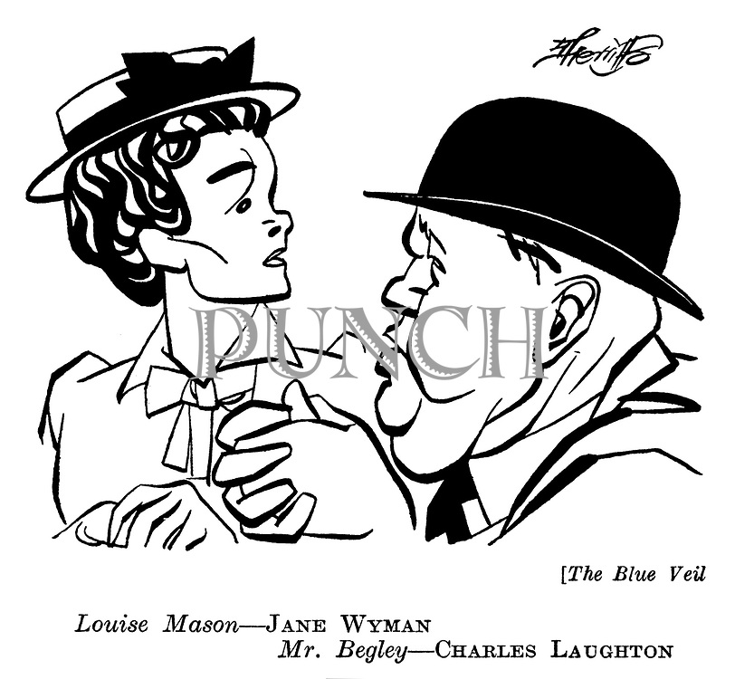 The Blue Veil : Jane Wyman and Charles Laughton