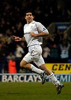 Fotball<br /> England 2004/2005<br /> Foto: SBI/Digitalsport<br /> NORWAY ONLY<br /> <br /> Bolton Wanderers v Tottenham Hotspurs, Barclays Premiership, 01/02/2005.<br /> Bolton's Tal Ben Haim celebrates his goal.