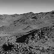 Moon like landscape of Cape Royds kenyte
