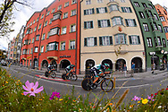 Bora - Hansgrohe during the 2018 UCI Road World Championships, Men's Team Time Trial cycling race on September 23, 2018 in Innsbruck, Austria - Photo Dario Belingheri / BettiniPhoto / ProSportsImages / DPPI