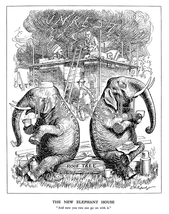 """The New Elephant House. """"And now you two can go on with it."""""""