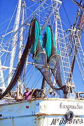 Turtle Safe Nets On Fishing Boat