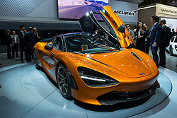 World Premiere of McClaren 720S at 87th Geneva International Motor Show in Geneva Switzerland 2017