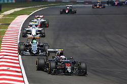 Jenson Button (GBR) McLaren MP4-31.<br /> 02.10.2016. Formula 1 World Championship, Rd 16, Malaysian Grand Prix, Sepang, Malaysia, Sunday.<br /> Copyright: Photo4 / XPB Images / action press