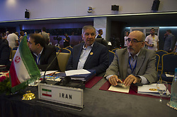 Iran's OPEC envoy Hossein Kazempour Ardebili during 10th OPEC and non-OPEC Joint Ministerial Monitoring Committee (JMMC) in Algiers, Algeria on September 23, 2018. Photo by Louiza Ammi/ABACAPRESS.COM