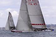 Lunna Rossa, ITA45. America's Cup 2000.