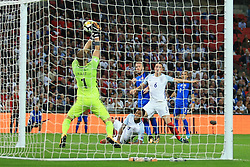 4 September 2017 -  2018 FIFA World Cup Qualifying (Group F) - England v Slovakia - Joe Hart of England makes a save from close range - Photo: Marc Atkins/Offside