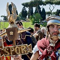 Natale di Roma, corteo storico