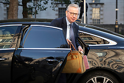 © Licensed to London News Pictures.10/09/2020. London, UK. Chancellor of the Duchy of Lancaster Michael Gove arrives at the Cabinet Office. Later a second day of negotiations between the UK Government and the EU will start in central London. Photo credit: George Cracknell Wright/LNP