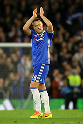 John Terry of Chelsea applauds the fans following their 3-0 win over Middlesbrough - Mandatory by-line: Jason Brown/JMP - 08/05/17 - FOOTBALL - Stamford Bridge - London, England - Chelsea v Middlesbrough - Premier League