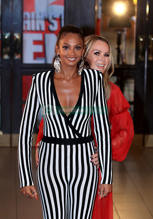 Alesha Dixon (left) and Amanda Holden (right) attending the Britain's Got Talent Photocall at the Opera House, Church Street, Blackpool.