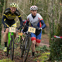 Brian McCarthy and Ronan O'Flynn taking part in the Ennis CX Cyclocross Race in Lees Rd on Tuesday