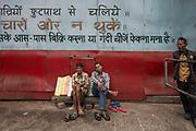 Portrait, Howrah Bridge, Calcutta