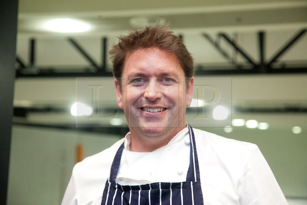 © London News Pictures. 12/04/2012. TV chef James Martin. Photocall at the opening of the BBC Good Food Show at Glow Bluewater, Kent Picture credit should read Manu Palomeque/LNP