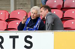 New Peterborough United Manager Graham Westley meets Peterborough fans before kick-off - Mandatory byline: Joe Dent/JMP - 07966386802 - 26/09/2015 - FOOTBALL - Coral Windows Stadium -Bradford,England - Bradford City v Peterborough United - Sky Bet League One