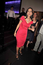 YASMIN MILLS at a party to celebrate the new Stephen Webster store on Mount Street, London W1 followed by a dinner at Maddox, Mill Street, London on 24th June 2009.