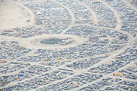 Aerial Photo Black Rock City 2014