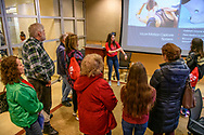 Visitors from the community enjoy tours, demonstrations and hands on participation of ongoing research by undergrad students, graduate students and professors for Science in the City, Saturday, April 13, 2019 on the SMU Campus.