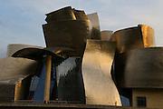 The Guggenheim Museum of modern art, by architect Frank Gehry, Bilbao, Pais Vasco, Spain