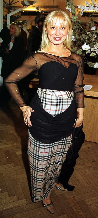COUNTESS ANCA VIDAEFF at a reception in London on 17th November 1999.MZC 84