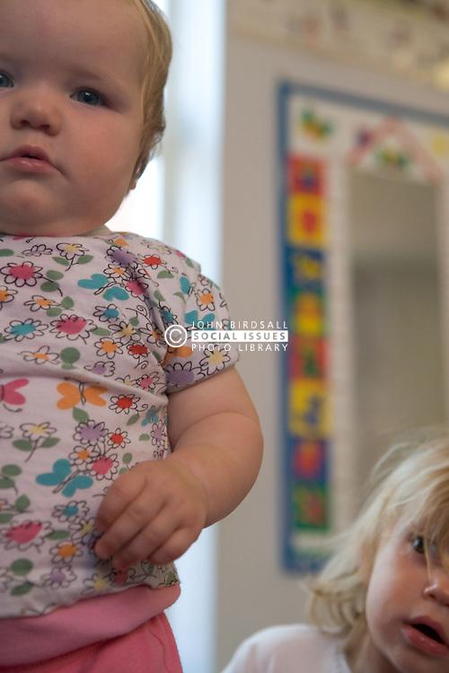 Toddlers at Nursery School;