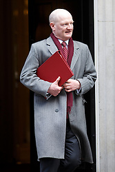 © licensed to London News Pictures. London, UK 04/02/2014. David Willetts attending to a cabinet meeting in Downing Street on Tuesday, 4 February 2014. Photo credit: Tolga Akmen/LNP
