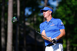 Former Florida placekicker Judd Davis during the Chick-fil-A Peach Bowl Challenge at the Ritz Carlton Reynolds, Lake Oconee, on Monday, April 30, 2019, in Greensboro, GA. (Paul Abell via Abell Images for Chick-fil-A Peach Bowl Challenge)