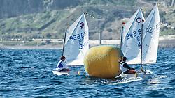 TROFEO INTERNACIONAL AECIO,OPTIMIST<br /> Real Club Náutico de Gran Canaria, Islas Canarias, España