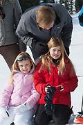 Fotosessie met de koninklijke familie in Lech /// Photoshoot with the Dutch royal family in Lech .<br /> <br /> Op de foto/ On the photo: Koningin Maxima, Koning Willem Alexander, Prinses Amalia, Prinses Alexia en Prinses Ariane met Prinses Beatrix ///// Queen Maxima, King Willem Alexander, Princess Amalia, Princess Alexia and Princess Ariane with Princess Beatrix
