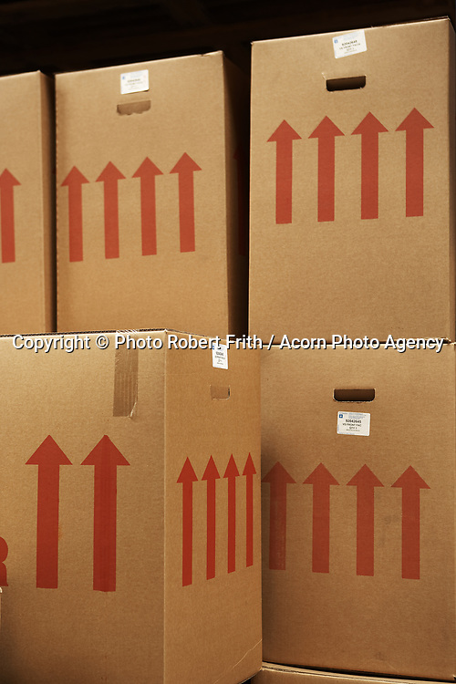 The only way is up… logistics warehouse