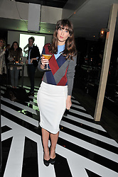 LAURA JACKSON at the InStyle Best of British Talent Event in association with Lancôme and Avenue 32 held at The Rooftop Restaurant, Shoreditch House, Ebor Street, London E1 on 30th January 2013.