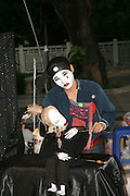Thailand Street performer puppeteer