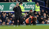 Jose Mourinho of Manchester United during the Premier League match at Goodison Park, Liverpool. Picture date: December 4th, 2016.Photo credit should read: Lynne Cameron/Sportimage