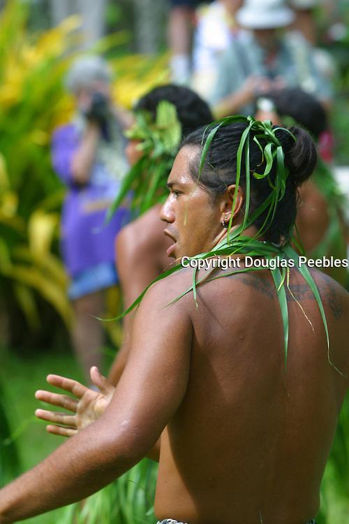 Dancer, Hakahau, Ua Pou, Marquesas, French Polynesia, (editorial use only, no model release)<br />