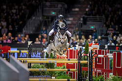 Gulliksen Geir, NOR, Gin Chin van het Lindenhof<br /> Jumping International de Bordeaux 2020<br /> © Hippo Foto - Dirk Caremans<br />  08/02/2020