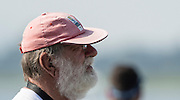 Rotterdam. Netherlands.   Supporter wearing a Pink Cap, Hat, 2016 JWRC, U23 and Non Olympic Regatta. {WRCH2016}  at the Willem-Alexander Baan.   Friday  26/08/2016 <br /> <br /> [Mandatory Credit; Peter SPURRIER/Intersport Images]