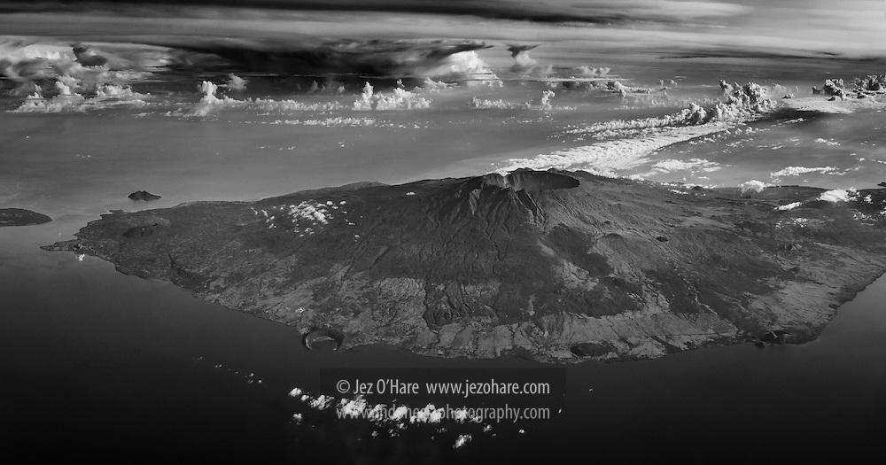 Mount Tambora, Sumbawa, Nusa Tenggara Barat, Indonesia
